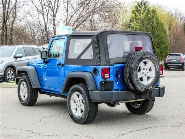 2015 Jeep Wrangler Sport (Stk: 19477A) in Milton - Image 7 of 16