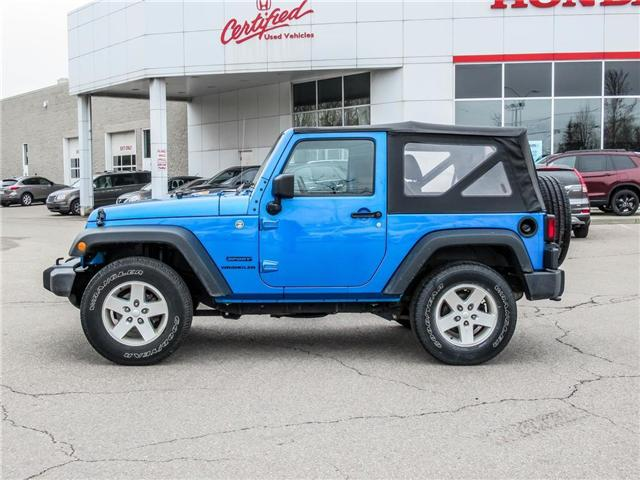 2015 Jeep Wrangler Sport (Stk: 19477A) in Milton - Image 8 of 16
