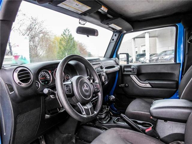 2015 Jeep Wrangler Sport (Stk: 19477A) in Milton - Image 10 of 16