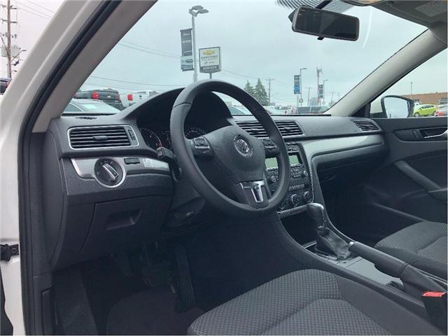 2014 Volkswagen Passat 2.0 TDI Trendline (Stk: U076849) in Mississauga - Image 11 of 17