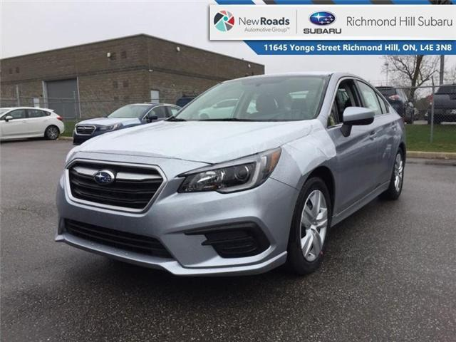 2019 Subaru Legacy 4dr Sdn 2.5i CVT (Stk: 32505) in RICHMOND HILL - Image 1 of 19