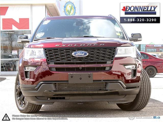 2019 Ford Explorer Sport (Stk: PLDU6112) in Ottawa - Image 2 of 28
