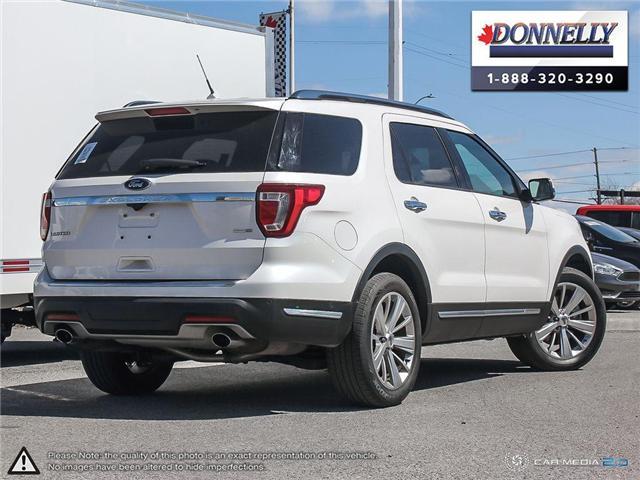 2019 Ford Explorer Limited (Stk: PLDU6110) in Ottawa - Image 4 of 29