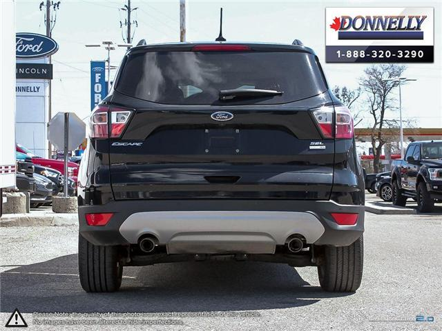 2018 Ford Escape SEL (Stk: PLDUR6105) in Ottawa - Image 5 of 28