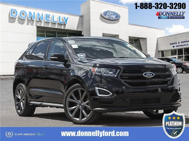 2018 Ford Edge Sport (Stk: PLDUR6114) in Ottawa - Image 1 of 28