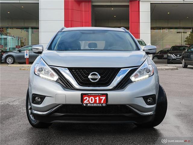 2017 Nissan Murano SV (Stk: P7191) in Etobicoke - Image 2 of 26