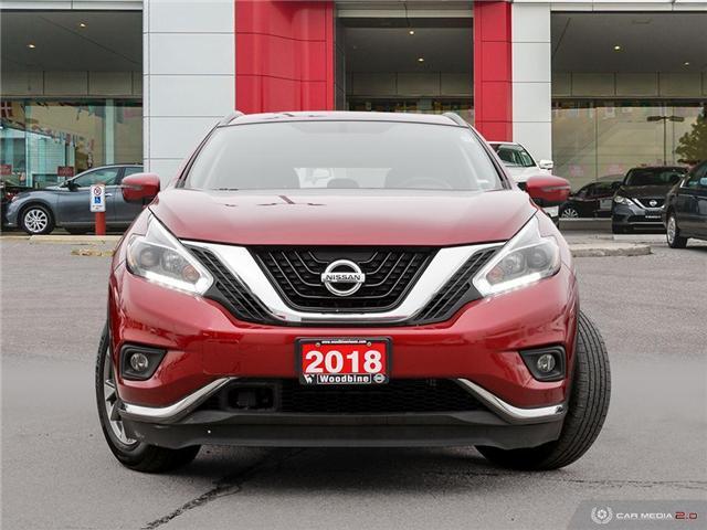 2018 Nissan Murano SV (Stk: P7287) in Etobicoke - Image 2 of 23