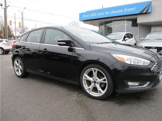 2016 Ford Focus Titanium (Stk: 190517) in North Bay - Image 1 of 15