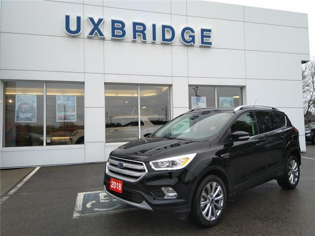 2018 Ford Escape Titanium (Stk: P1280) in Uxbridge - Image 1 of 13
