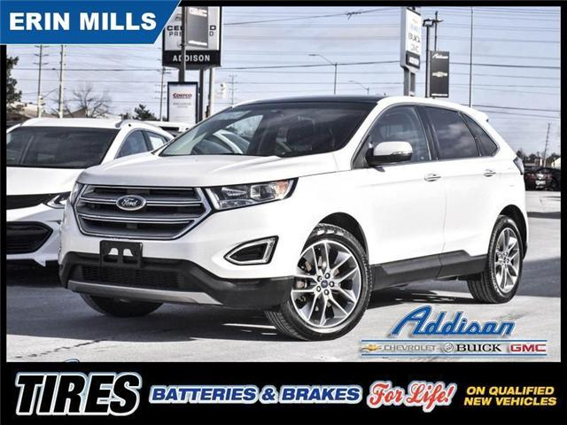 2015 Ford Edge Titanium Leather Navi Sunroof At 25999 For Sale In