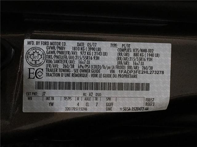2017 Ford Focus SE (Stk: 34888W) in Belleville - Image 24 of 28