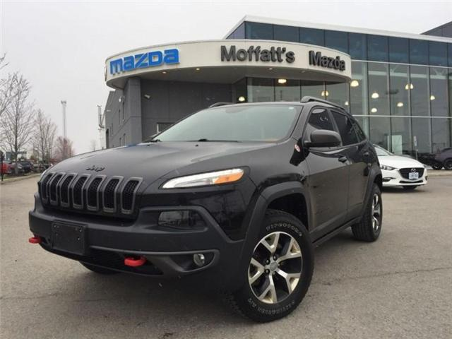 2016 Jeep Cherokee Trailhawk (Stk: 27375A) in Barrie - Image 1 of 28