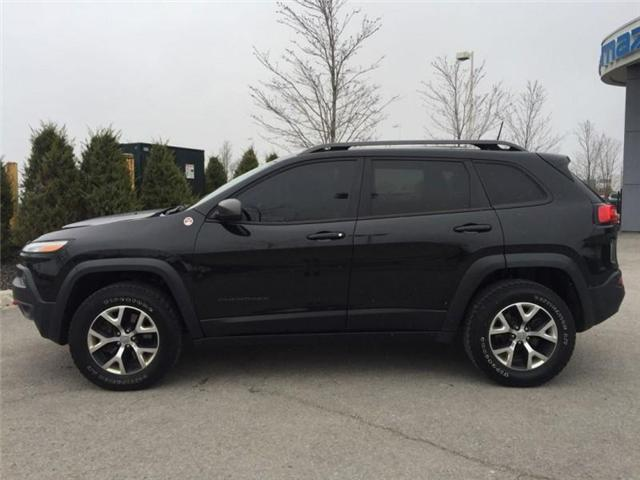 2016 Jeep Cherokee Trailhawk (Stk: 27375A) in Barrie - Image 2 of 28