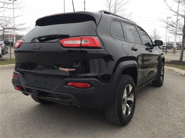 2016 Jeep Cherokee Trailhawk (Stk: 27375A) in Barrie - Image 4 of 28