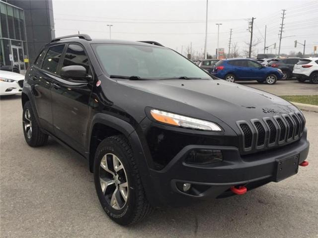 2016 Jeep Cherokee Trailhawk (Stk: 27375A) in Barrie - Image 5 of 28