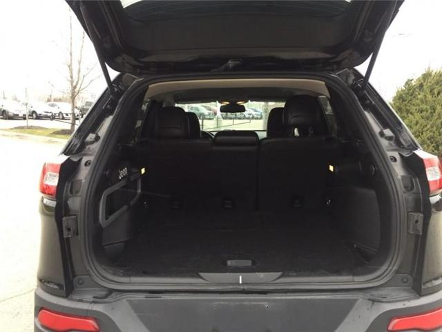 2016 Jeep Cherokee Trailhawk (Stk: 27375A) in Barrie - Image 10 of 28