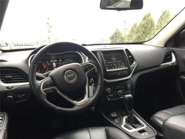 2016 Jeep Cherokee Trailhawk (Stk: 27375A) in Barrie - Image 12 of 28