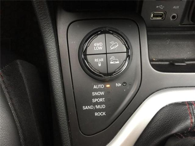 2016 Jeep Cherokee Trailhawk (Stk: 27375A) in Barrie - Image 26 of 28
