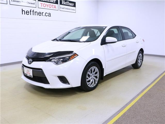 2016 Toyota Corolla LE (Stk: 195324) in Kitchener - Image 1 of 29
