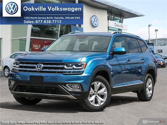 2019 Volkswagen Atlas 3.6 FSI Highline (Stk: 21192) in Oakville - Image 1 of 23