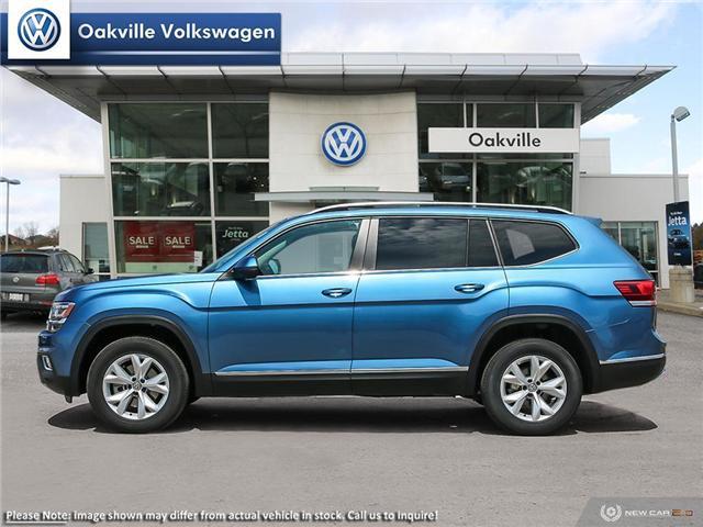 2019 Volkswagen Atlas 3.6 FSI Highline (Stk: 21192) in Oakville - Image 3 of 23