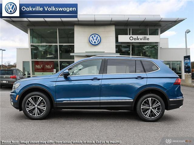 2019 Volkswagen Tiguan Highline (Stk: 21315) in Oakville - Image 3 of 22
