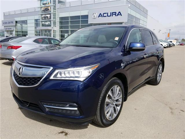 2016 Acura MDX Navigation Package (Stk: A4007) in Saskatoon - Image 1 of 27