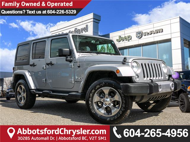 2018 Jeep Wrangler JK Unlimited Sahara (Stk: AB0829A) in Abbotsford - Image 1 of 22