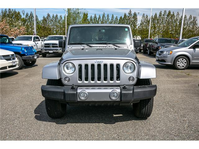 2018 Jeep Wrangler JK Unlimited Sahara (Stk: AB0829A) in Abbotsford - Image 2 of 22