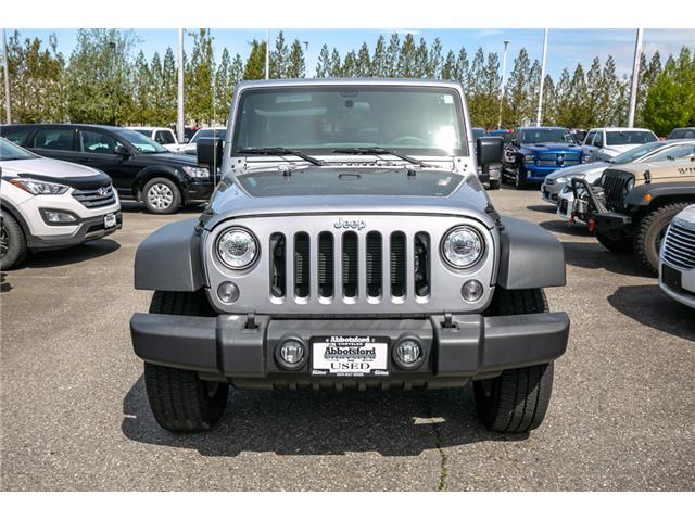 2018 Jeep Wrangler JK Unlimited Sport (Stk: AB0850) in Abbotsford - Image 2 of 22