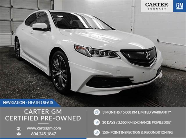2015 Acura TLX Tech (Stk: 89-62722) in Burnaby - Image 1 of 24