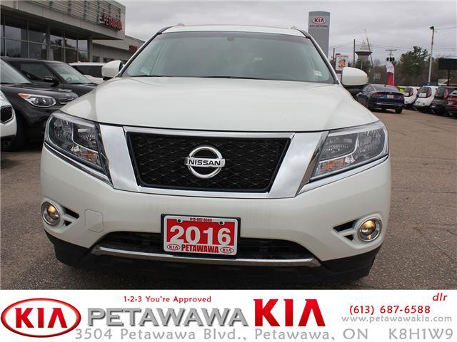 2016 Nissan Pathfinder SL (Stk: 19182-1) in Petawawa - Image 2 of 27
