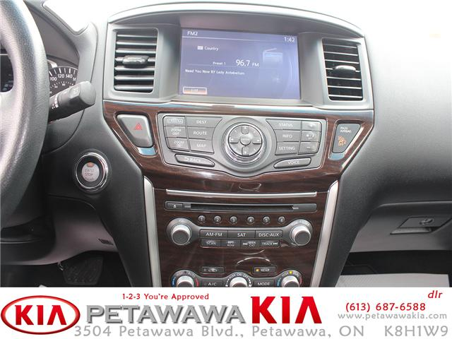 2016 Nissan Pathfinder SL (Stk: 19182-1) in Petawawa - Image 11 of 27