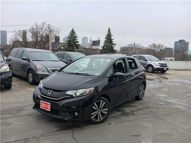 2015 Honda Fit EX-L Navi (Stk: H19815A) in Toronto - Image 1 of 21