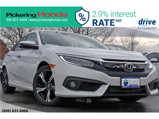 2018 Honda Civic Touring (Stk: T727) in Pickering - Image 1 of 32