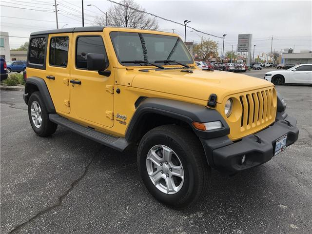 2019 Jeep Wrangler Unlimited Sport (Stk: 19973) in Windsor - Image 1 of 12