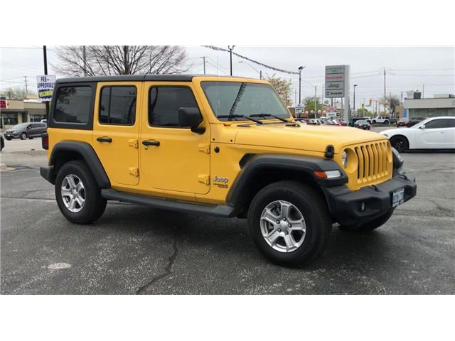 2019 Jeep Wrangler Unlimited Sport (Stk: 19973) in Windsor - Image 2 of 12