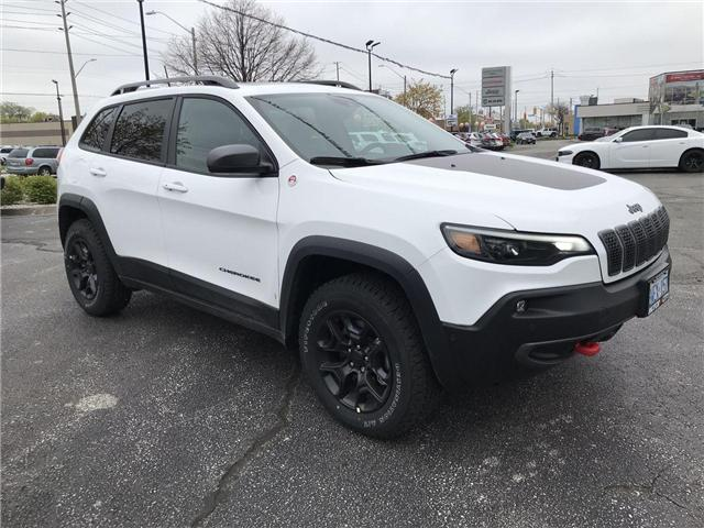 2019 Jeep Cherokee Trailhawk (Stk: 19911) in Windsor - Image 1 of 14