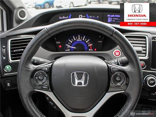 2014 Honda Civic EX (Stk: 19370A) in Cambridge - Image 14 of 27