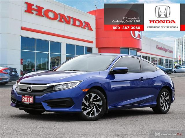2016 Honda Civic LX (Stk: U4948) in Cambridge - Image 1 of 27