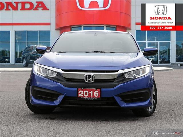 2016 Honda Civic LX (Stk: U4948) in Cambridge - Image 2 of 27