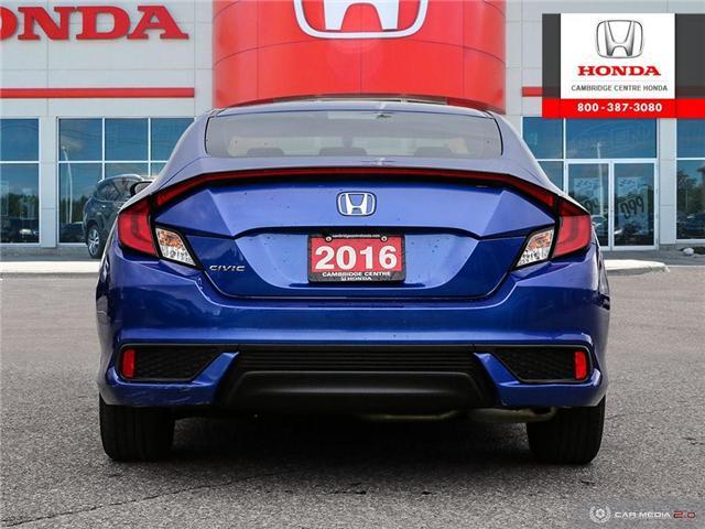 2016 Honda Civic LX (Stk: U4948) in Cambridge - Image 5 of 27
