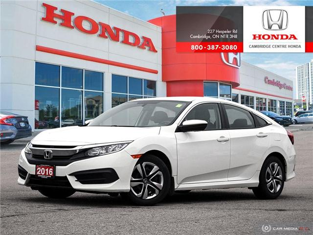 2016 Honda Civic LX (Stk: 19289A) in Cambridge - Image 1 of 27