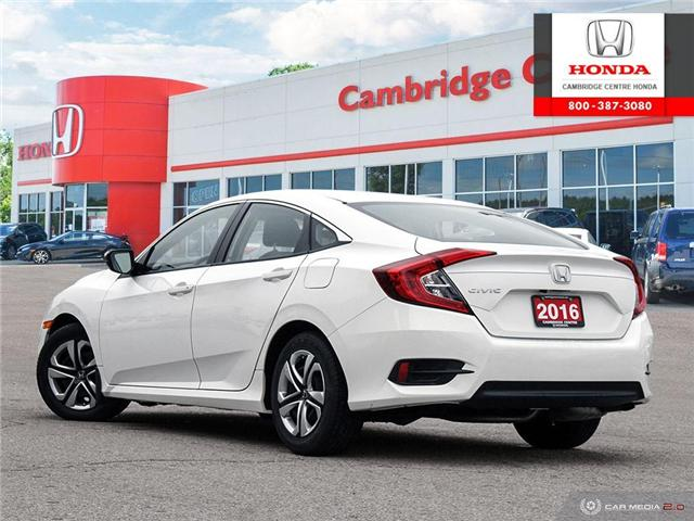 2016 Honda Civic LX (Stk: 19289A) in Cambridge - Image 4 of 27