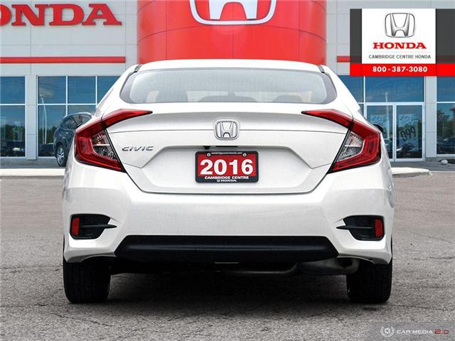 2016 Honda Civic LX (Stk: 19289A) in Cambridge - Image 5 of 27