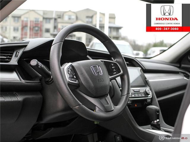 2016 Honda Civic LX (Stk: 19289A) in Cambridge - Image 13 of 27