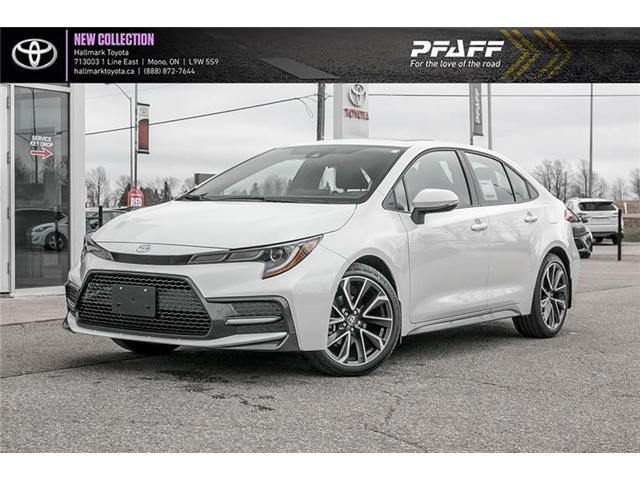 2020 Toyota Corolla 4-door Sedan XSE CVT (Stk: H20014) in Orangeville - Image 1 of 16