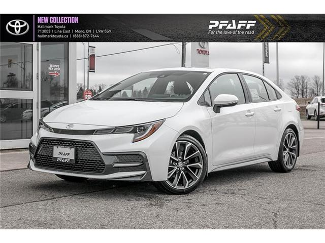 2020 Toyota Corolla 4-door Sedan SE CVT (Stk: H20015) in Orangeville - Image 1 of 21