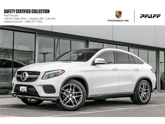 2016 Mercedes-Benz GLE350d 4MATIC Coupe (Stk: U7821) in Vaughan - Image 1 of 22