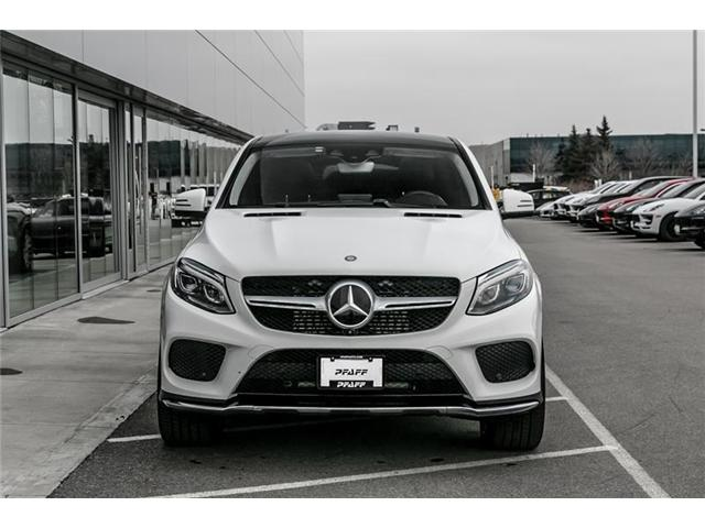 2016 Mercedes-Benz GLE350d 4MATIC Coupe (Stk: U7821) in Vaughan - Image 2 of 22